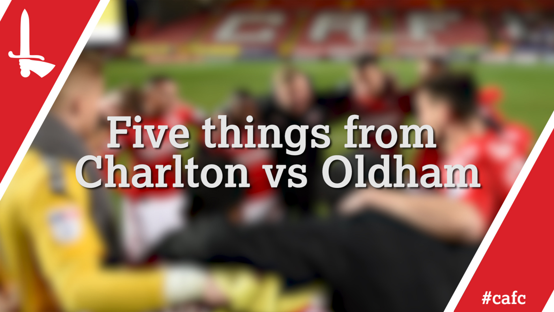 Five things from Charlton vs Oldham