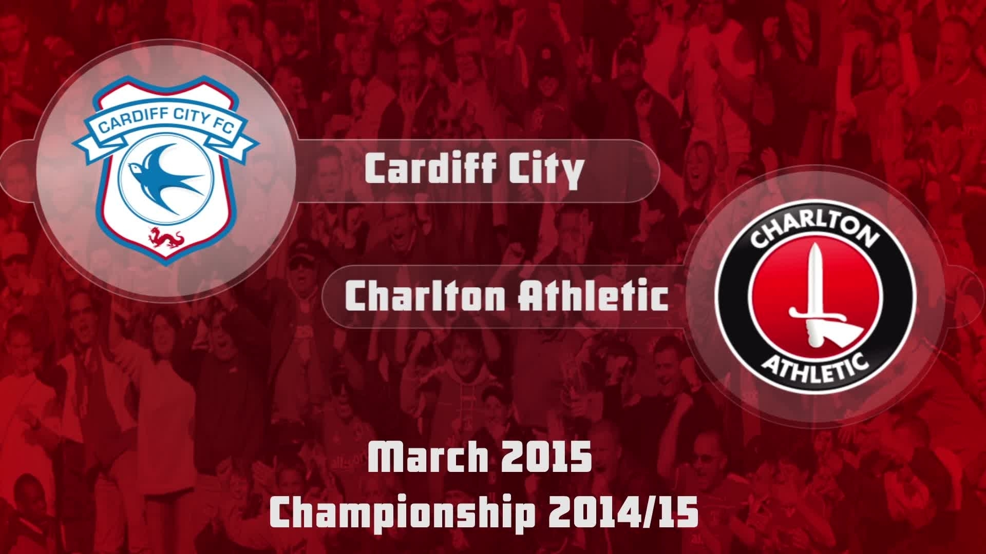 39 HIGHLIGHTS | Cardiff City 1 Charlton 2 (March 2015)
