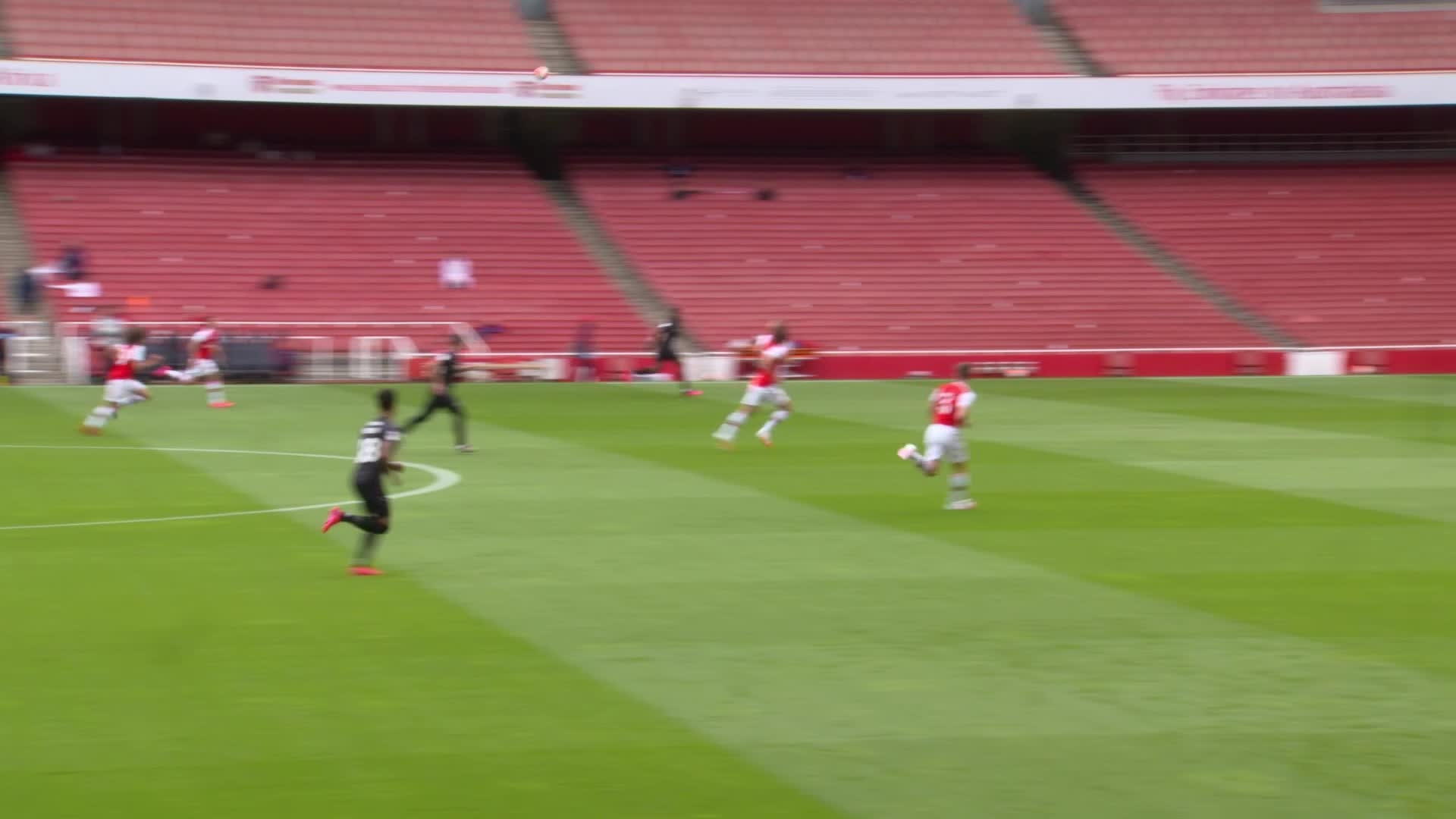 TRAINING GAME HIGHLIGHTS | Arsenal 6 Charlton 0