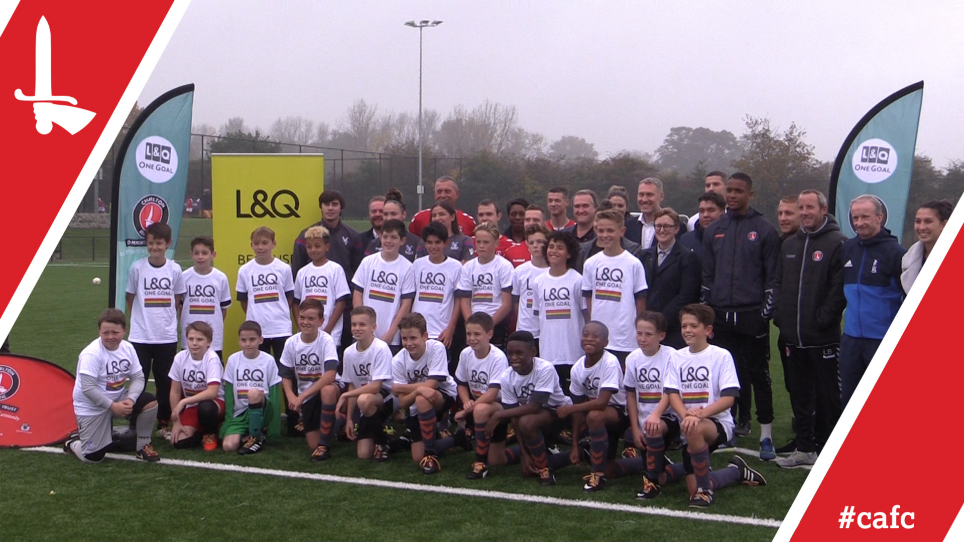 CACT | L&Q One Goal and Stonewall team up to support Rainbow Laces campaign