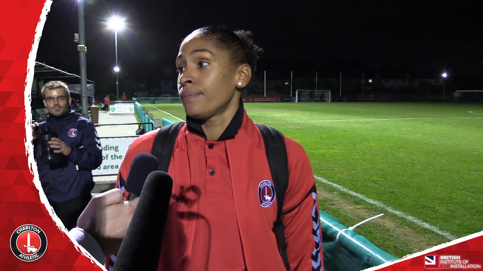 WOMEN'S REACTION | Gemma Bryan pleased with Aston Villa goals