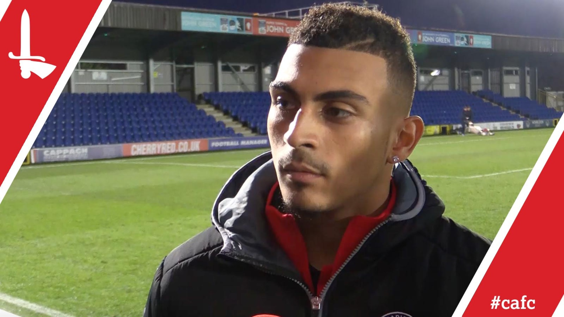 Karlan Ahearne-Grant on his form and Charlton's FA Cup exit