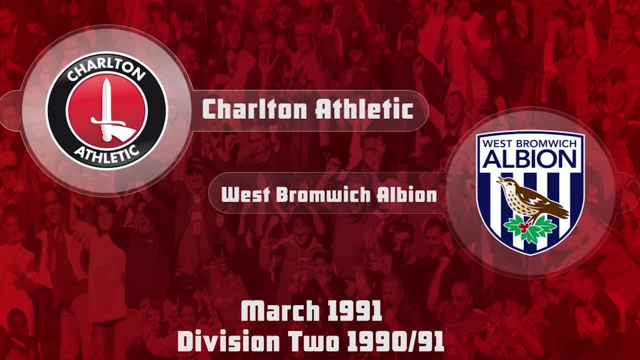 41 HIGHLIGHTS | Charlton 2 West Brom 0 (March 1991)
