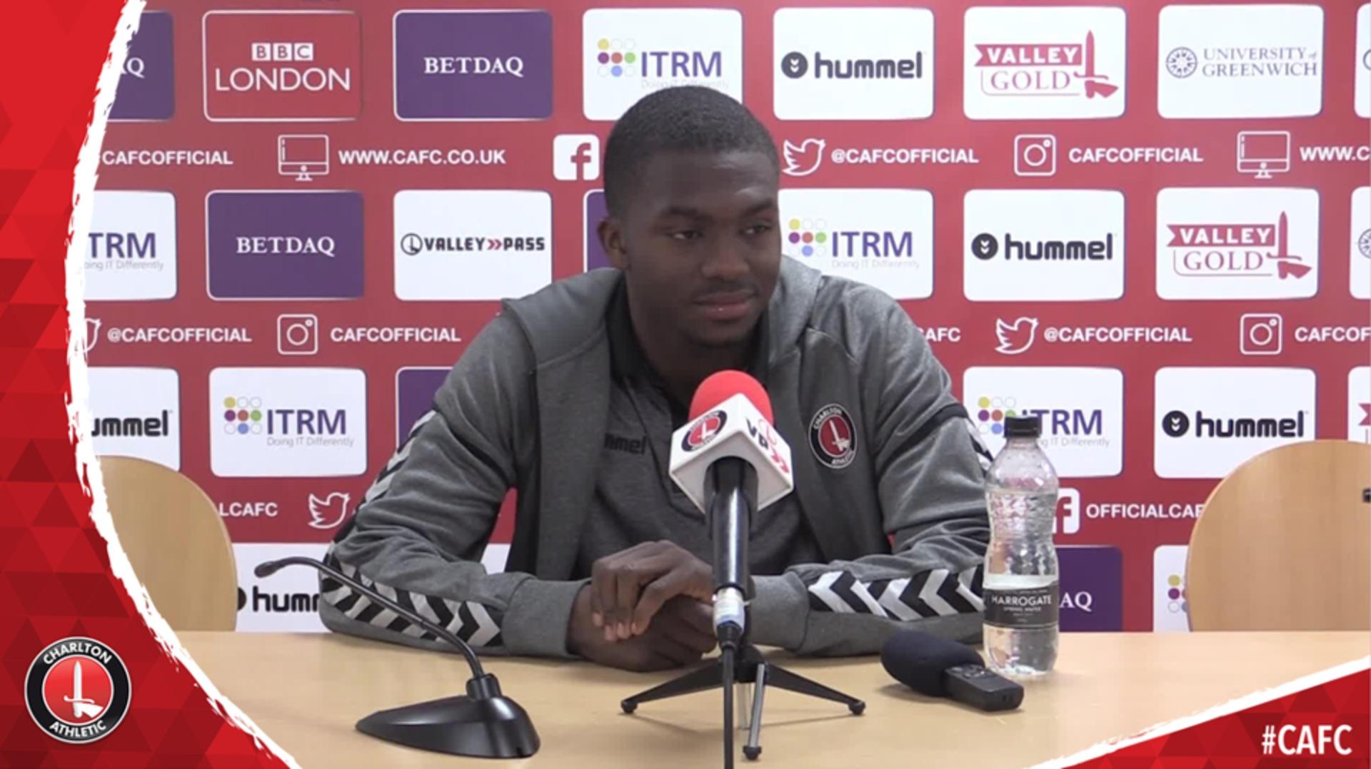 Anfernee Dijksteel reflects on scoring first Charlton goal
