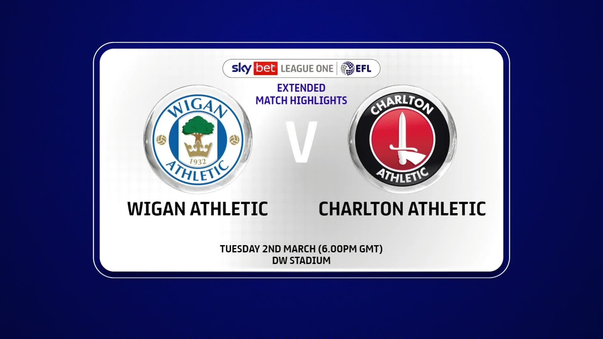 EXTENDED | Wigan Athletic 0 Charlton 1 (March 2021)