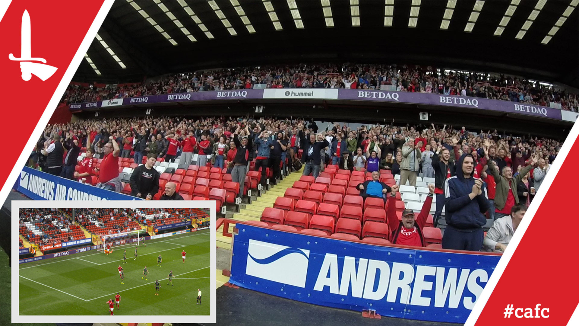 FAN CAM | Charlton 1 Doncaster 0