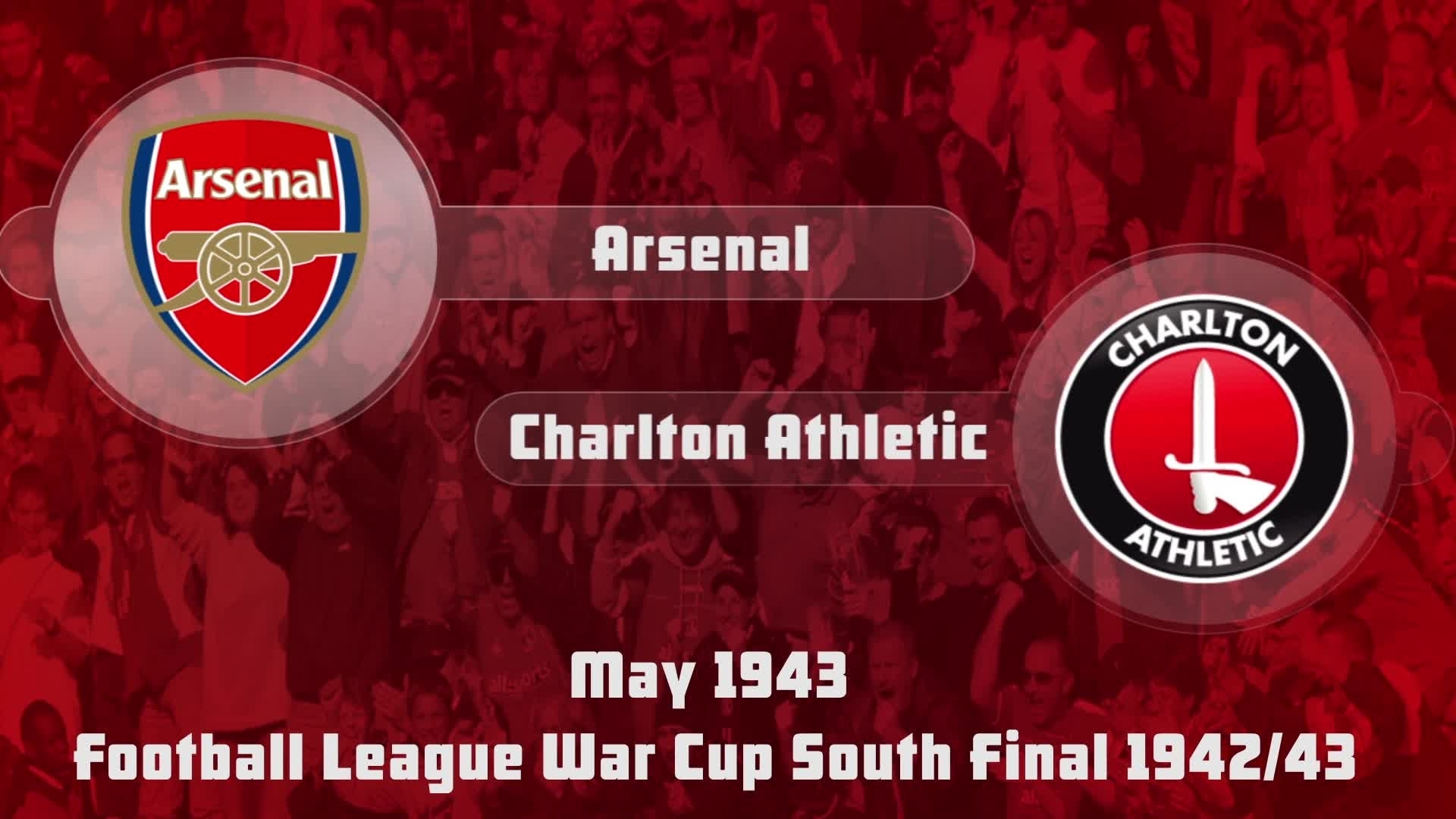 HIGHLIGHTS | Arsenal 7 Charlton 1 (War Cup Final 1943)