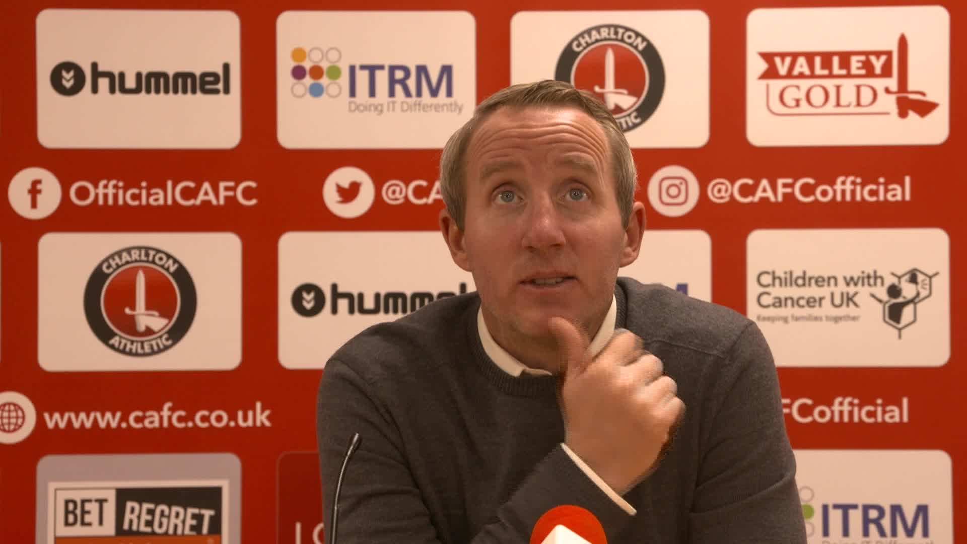 POST MATCH | Lee Bowyer reacts to Charlton's 3-2 victory over Bristol City (December 2019)