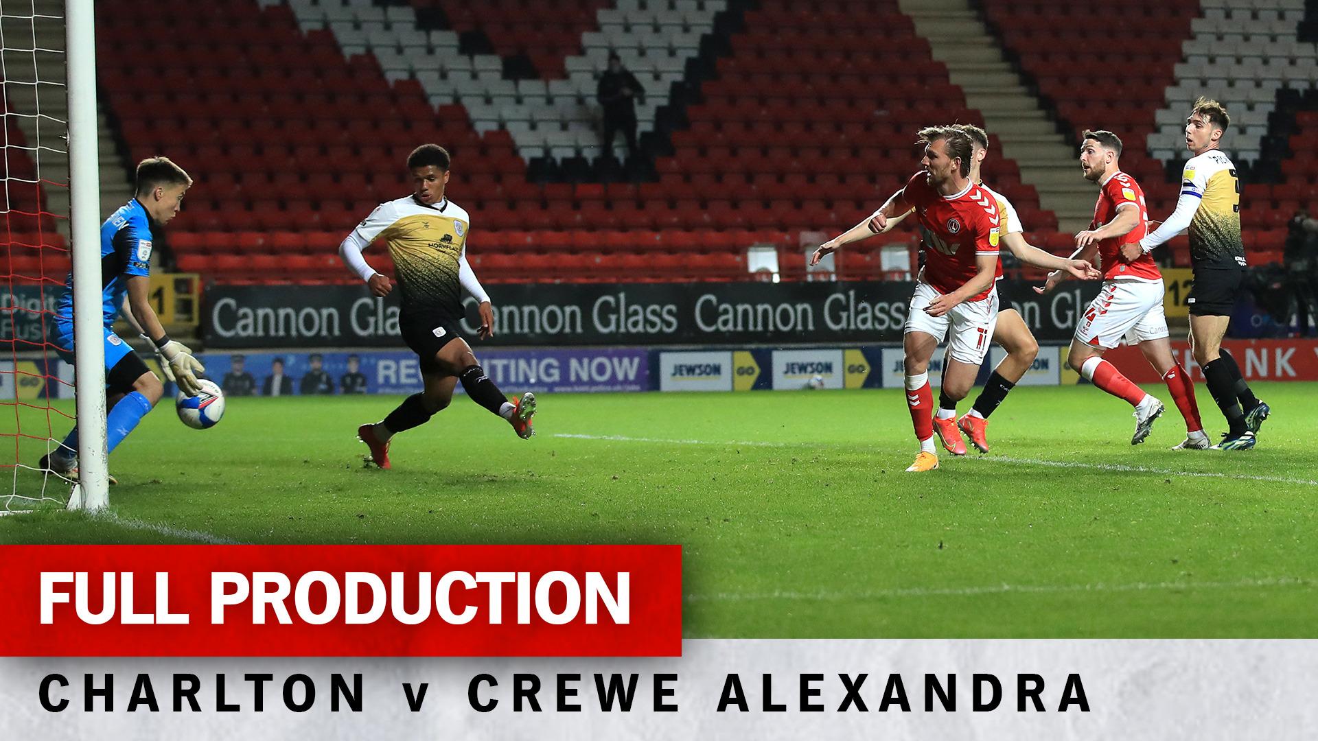 Charlton TV | Full broadcast - Crewe Alexandra (h) (April 2021)
