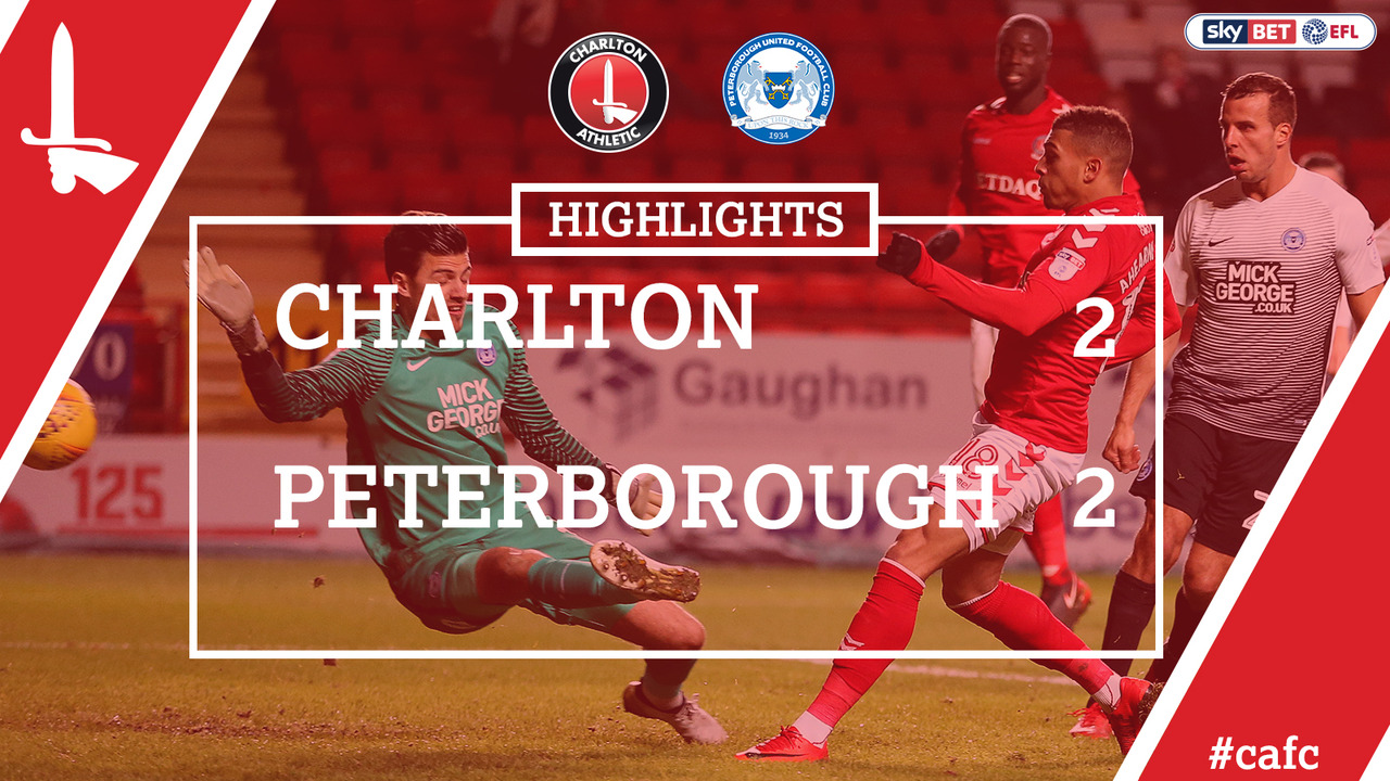 25 HIGHLIGHTS | Charlton 2 Peterborough 2 (Nov 2017)