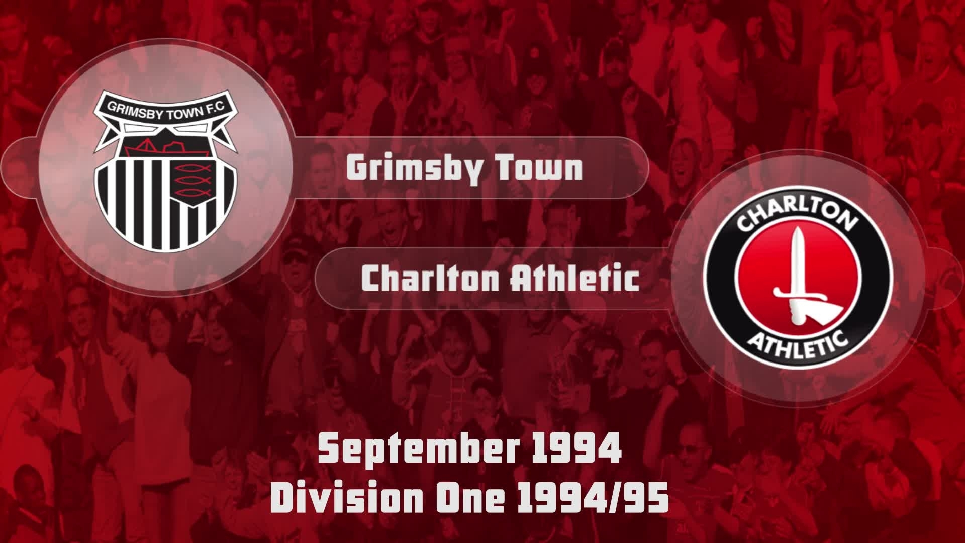 06 HIGHLIGHTS | Grimsby Town 0 Charlton 1 (Sept 1994)