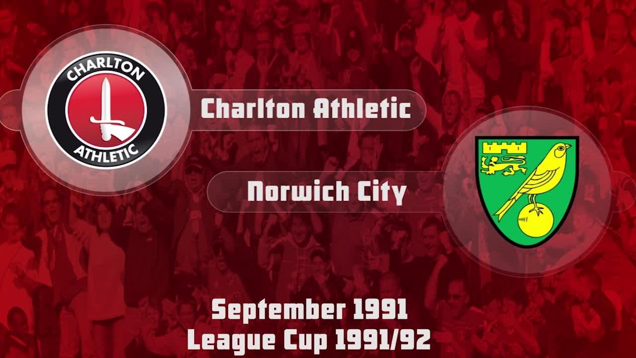 11 HIGHLIGHTS | Charlton 0 Norwich 2 (Sept 1991)