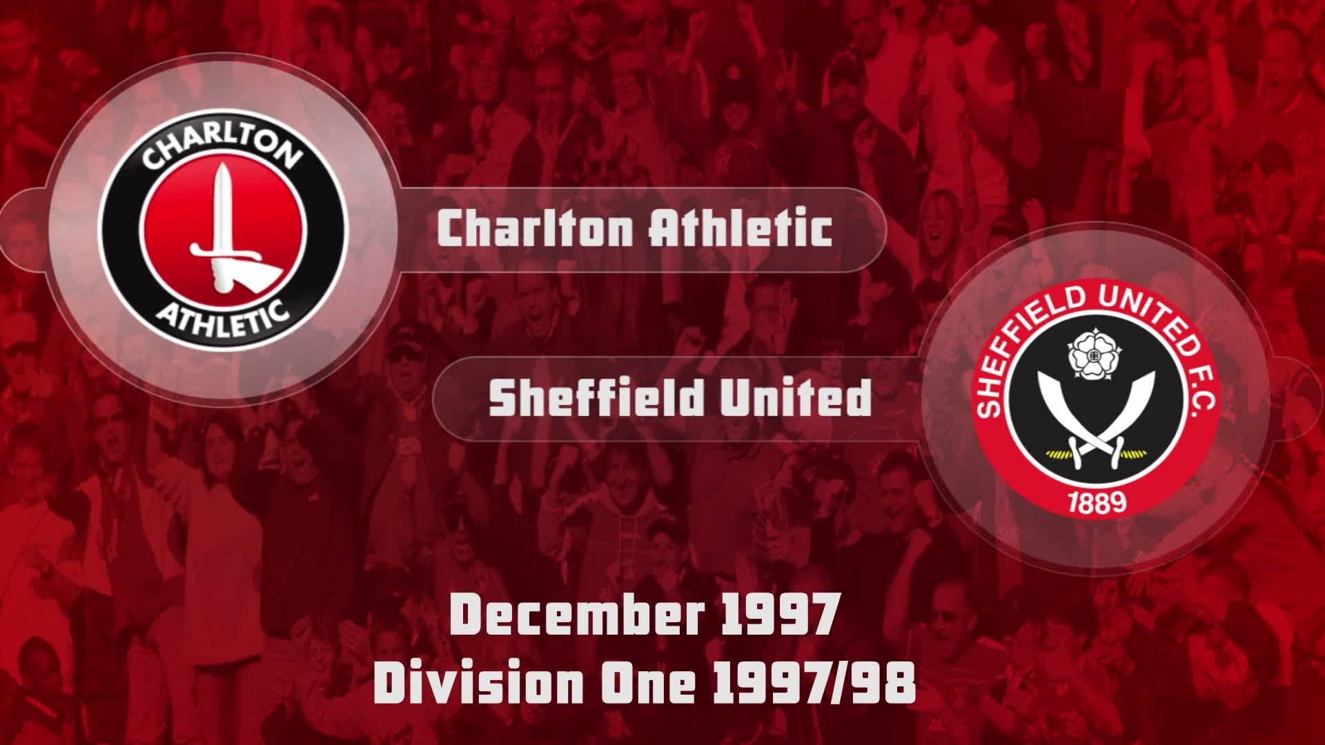 23 HIGHLIGHTS |  Charlton 2 Sheffield United 1 (Dec 1997)