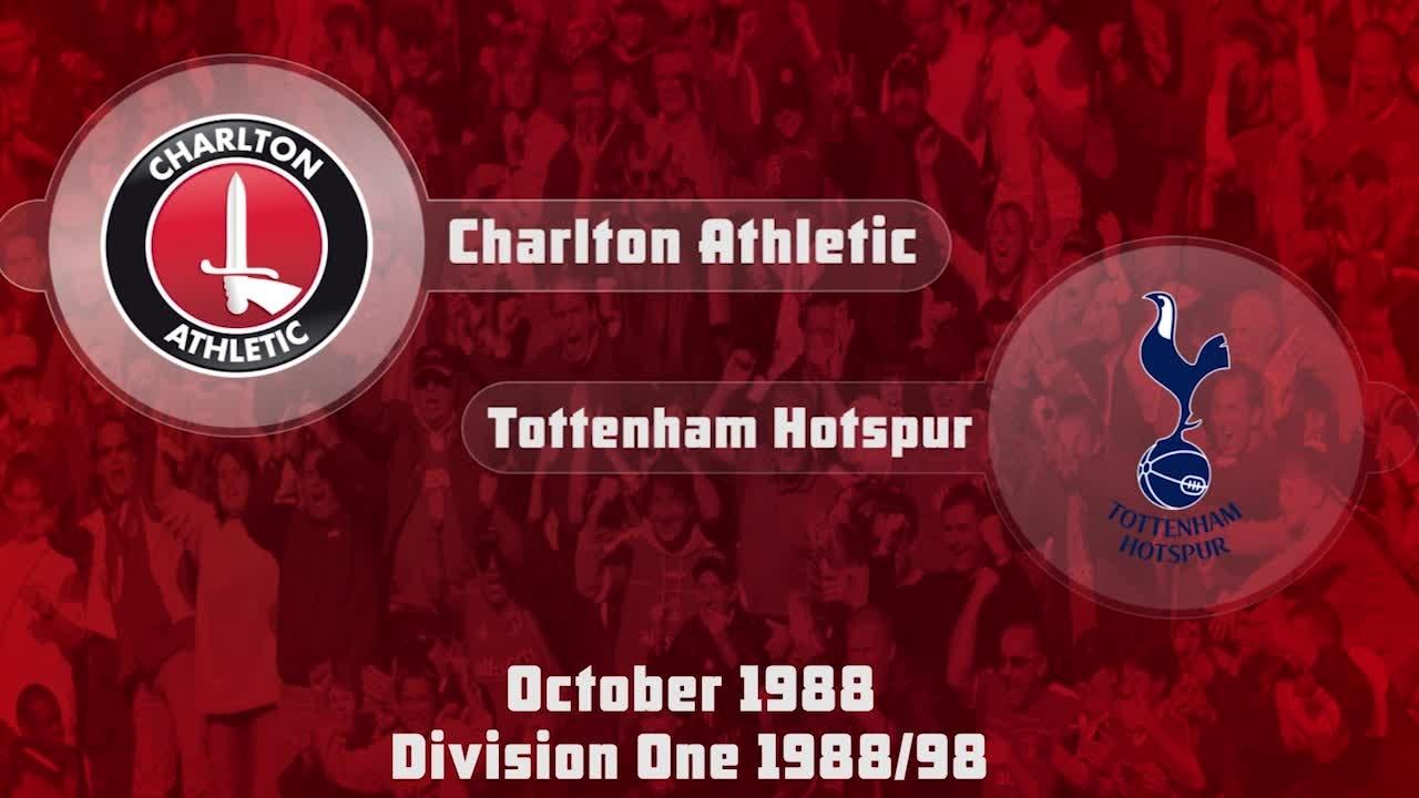 08 HIGHLIGHTS | Charlton 2 Tottenham 2 (Oct 1988)