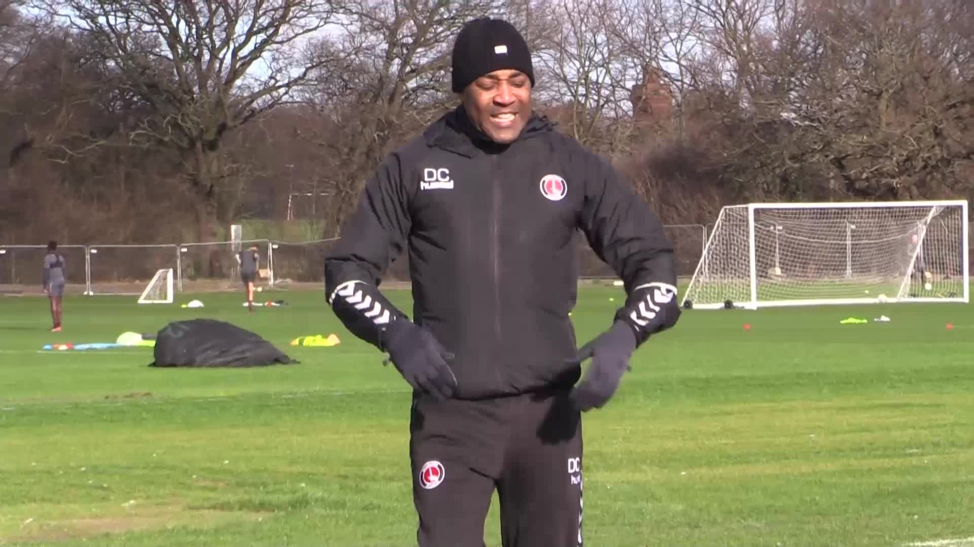 Sprint training from Darren Campbell