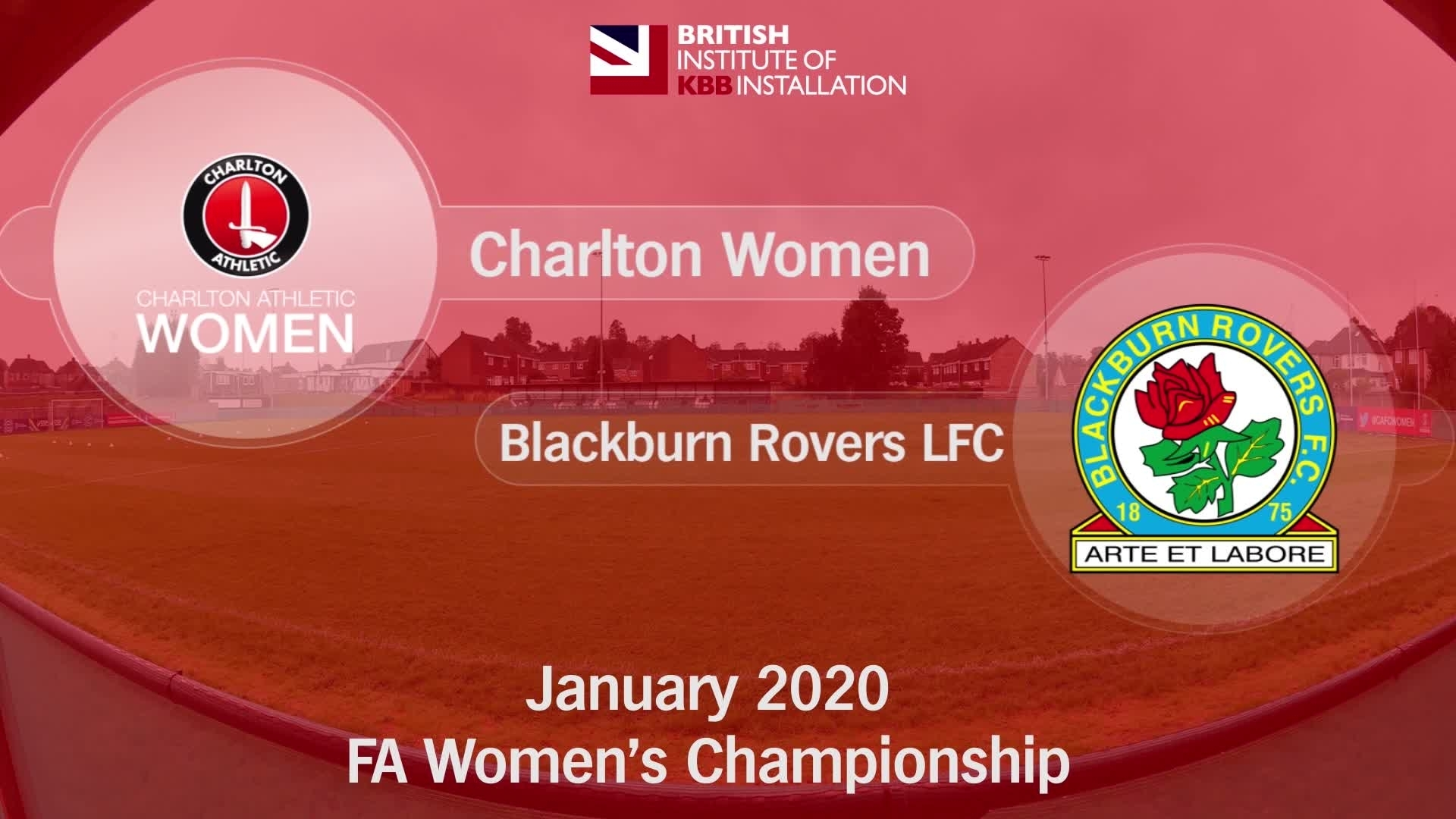 WOMEN'S HIGHLIGHTS | Charlton Women 1 Blackburn Rovers LFC 2 (January 2020)