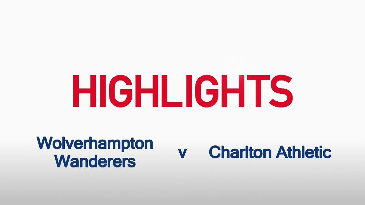 07 HIGHLIGHTS   Wolves 2 Charlton 1 (Aug 2015)
