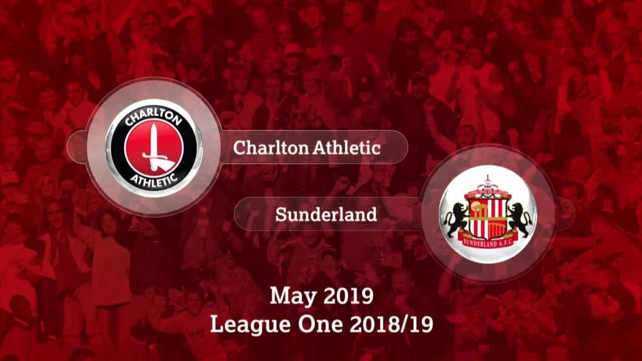 GOALS | Charlton 2 Sunderland 1 (May 2019)