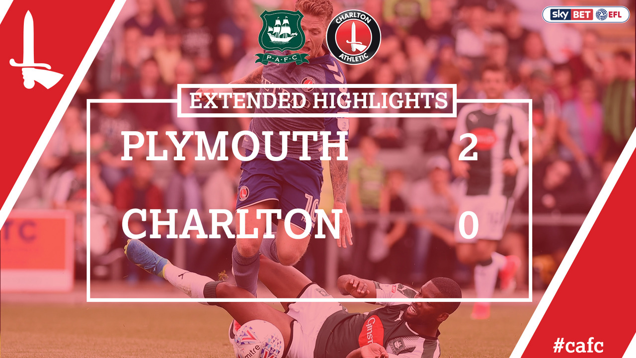 03 EXTENDED HIGHLIGHTS | Plymouth 2 Charlton 0 (Aug 2017)