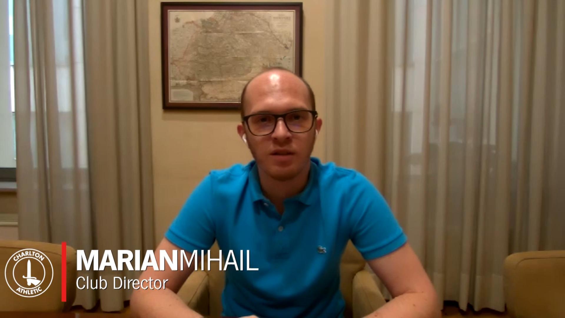 Marian Mihail interview (August 2020)