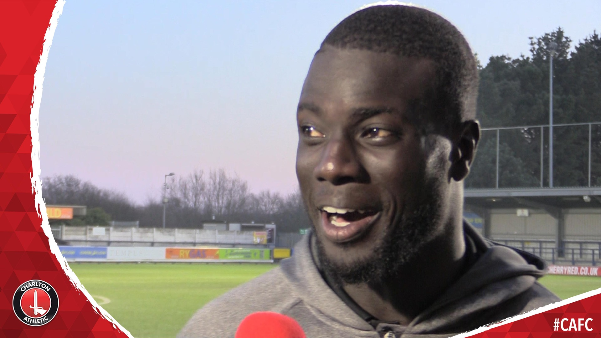 Naby Sarr on his stunning free-kick and Charlton's win at AFC Wimbledon