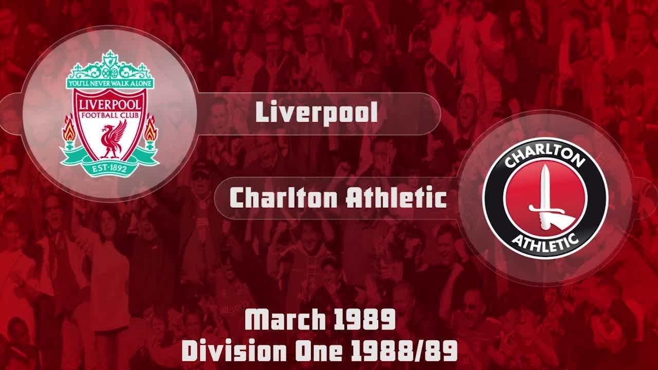 33 HIGHLIGHTS | Liverpool 2 Charlton 0 (March 1989)