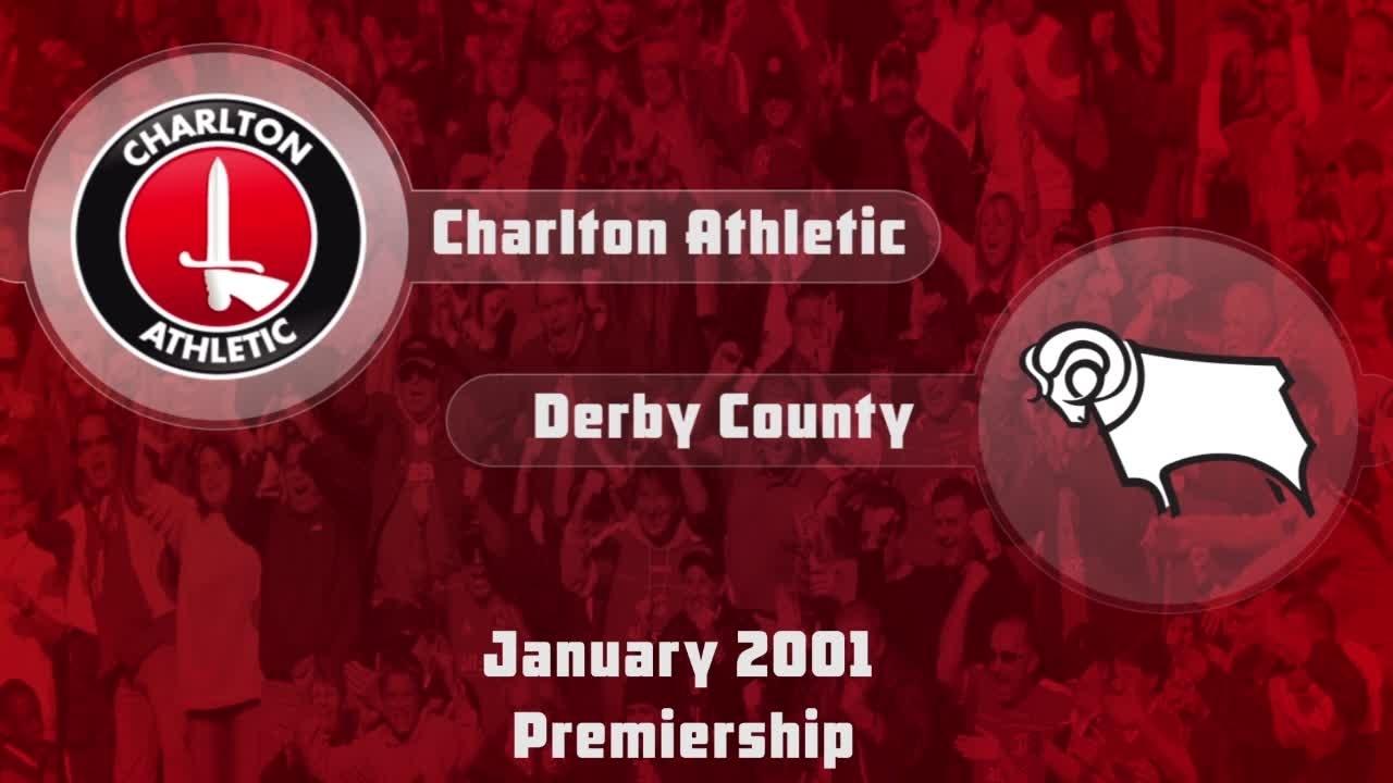 29 HIGHLIGHTS   Charlton 2 Derby County 1 (Jan 2001)
