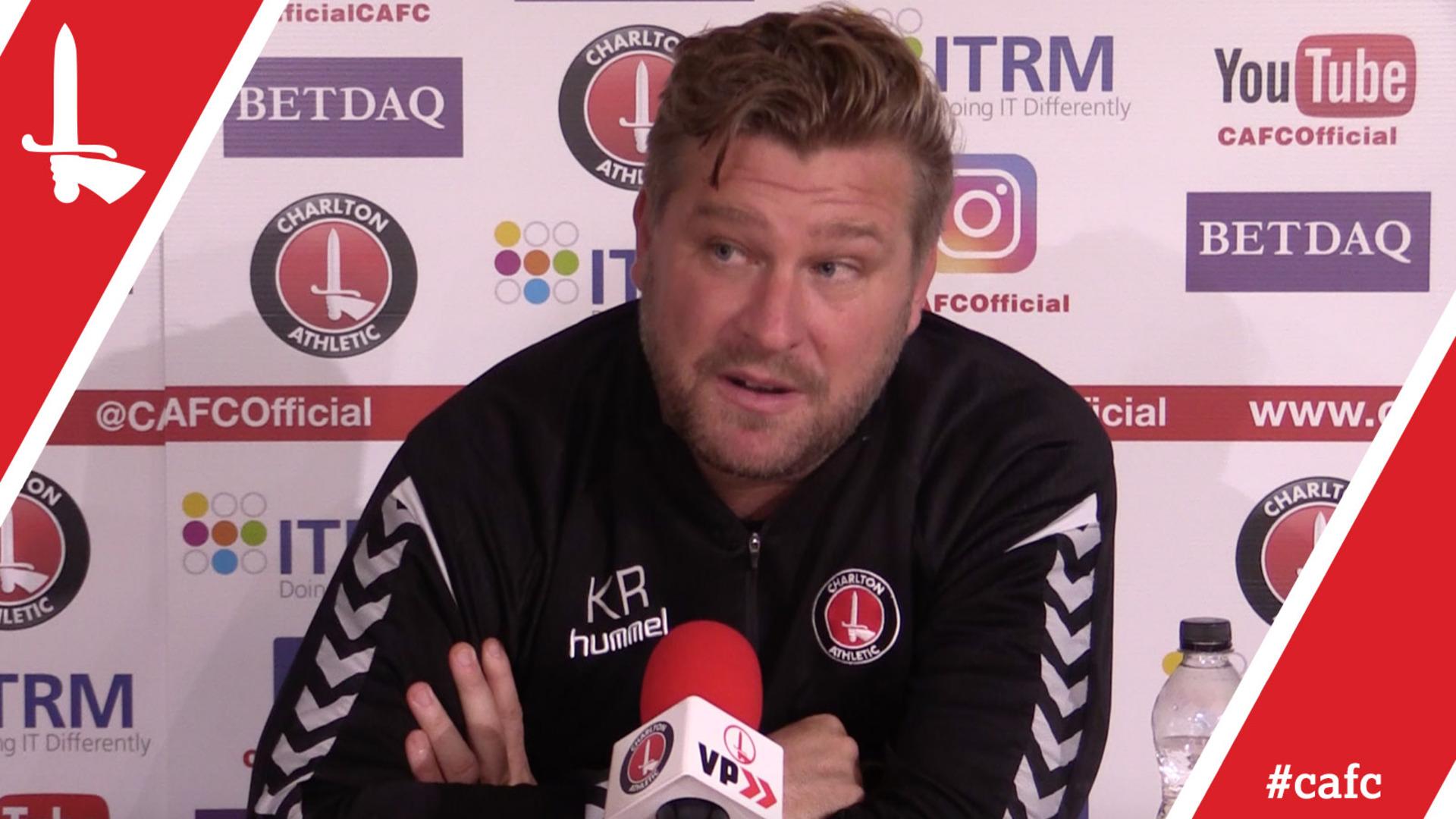 Karl Robinson's pre-Bradford City press conference
