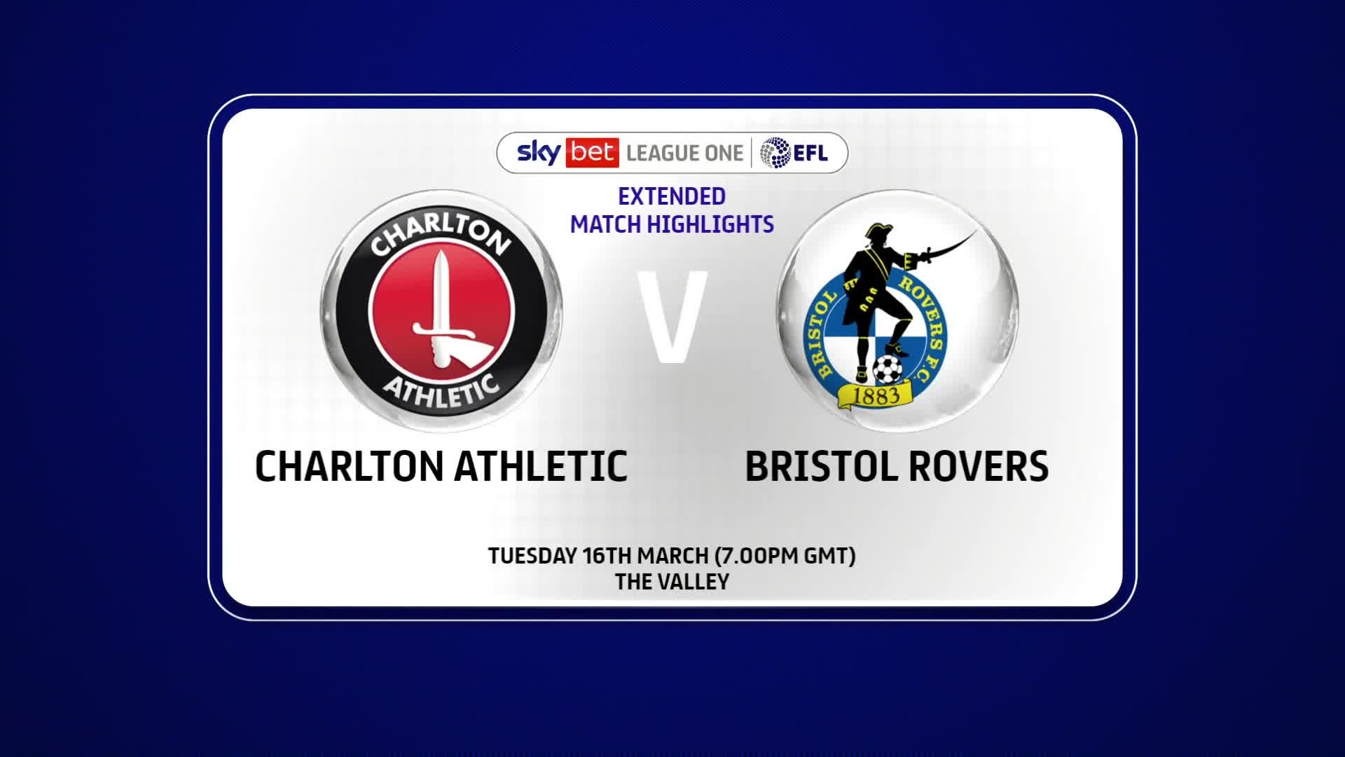 EXTENDED | Charlton 3 Bristol Rovers 2 (March 2021)