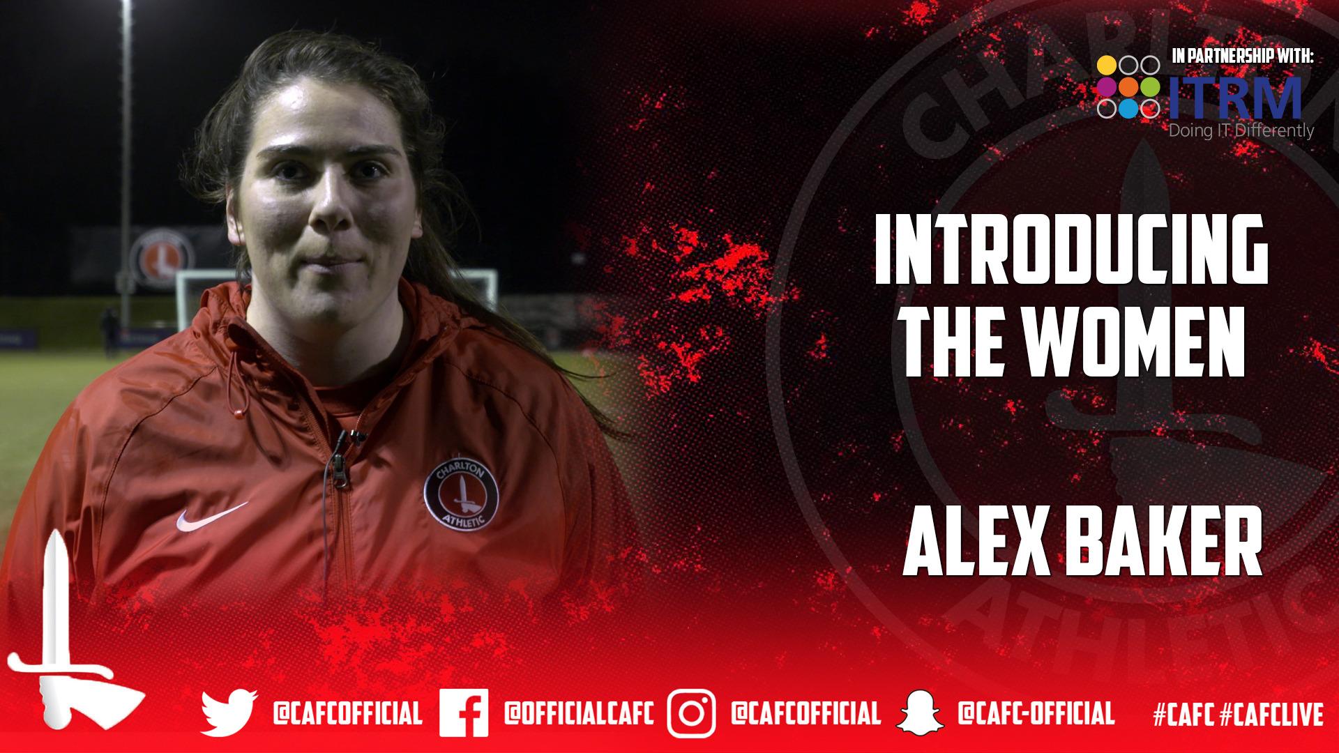 INTRODUCING THE WOMEN |  Alex Baker