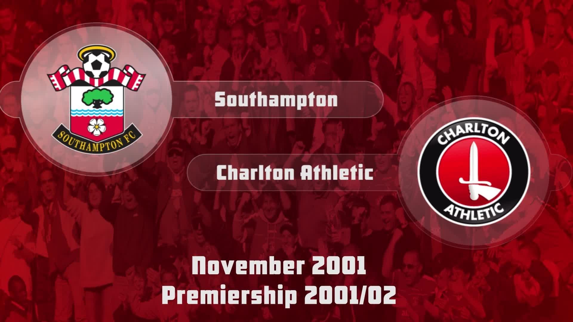 15 HIGHLIGHTS | Southampton 1 Charlton 0 (Nov 2001)