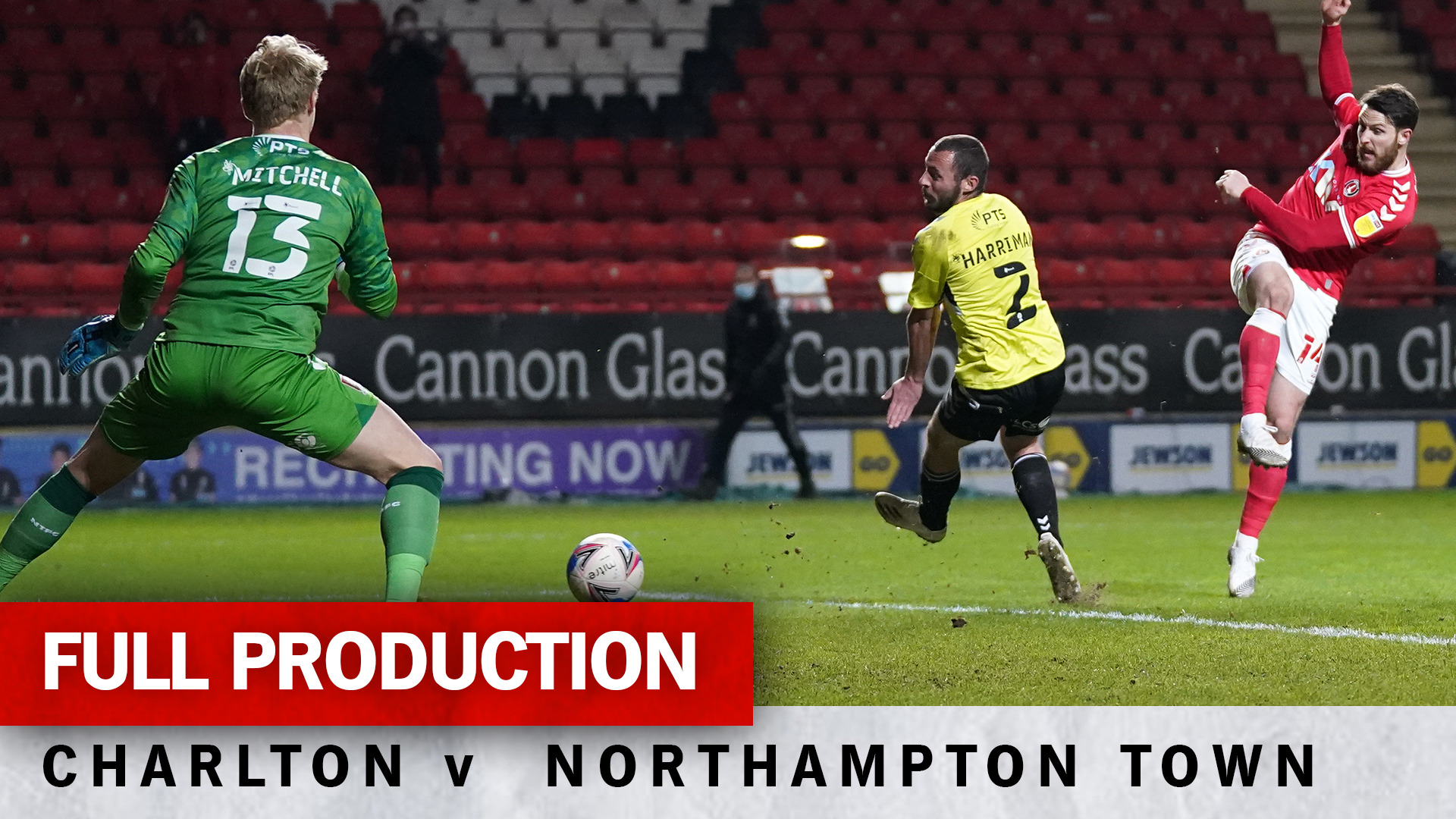 Charlton TV | Full broadcast - Northampton Town (h) (March 2021)