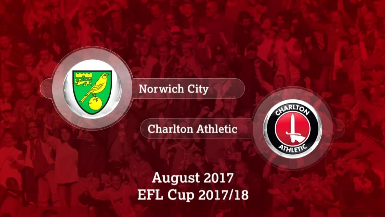 GOALS   Norwich City 4 Charlton 1 (League Cup, Aug 2017)