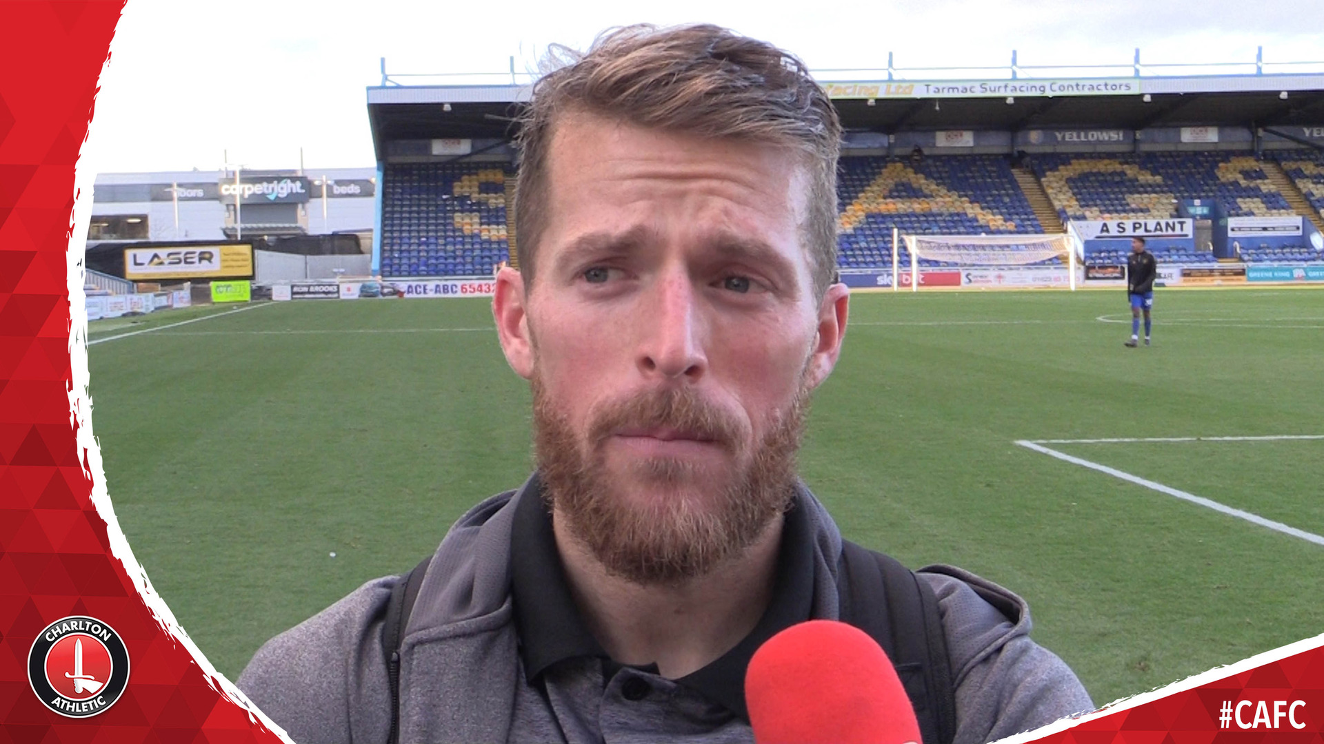 Billy Clarke on making his long-awaited return from injury at Mansfield