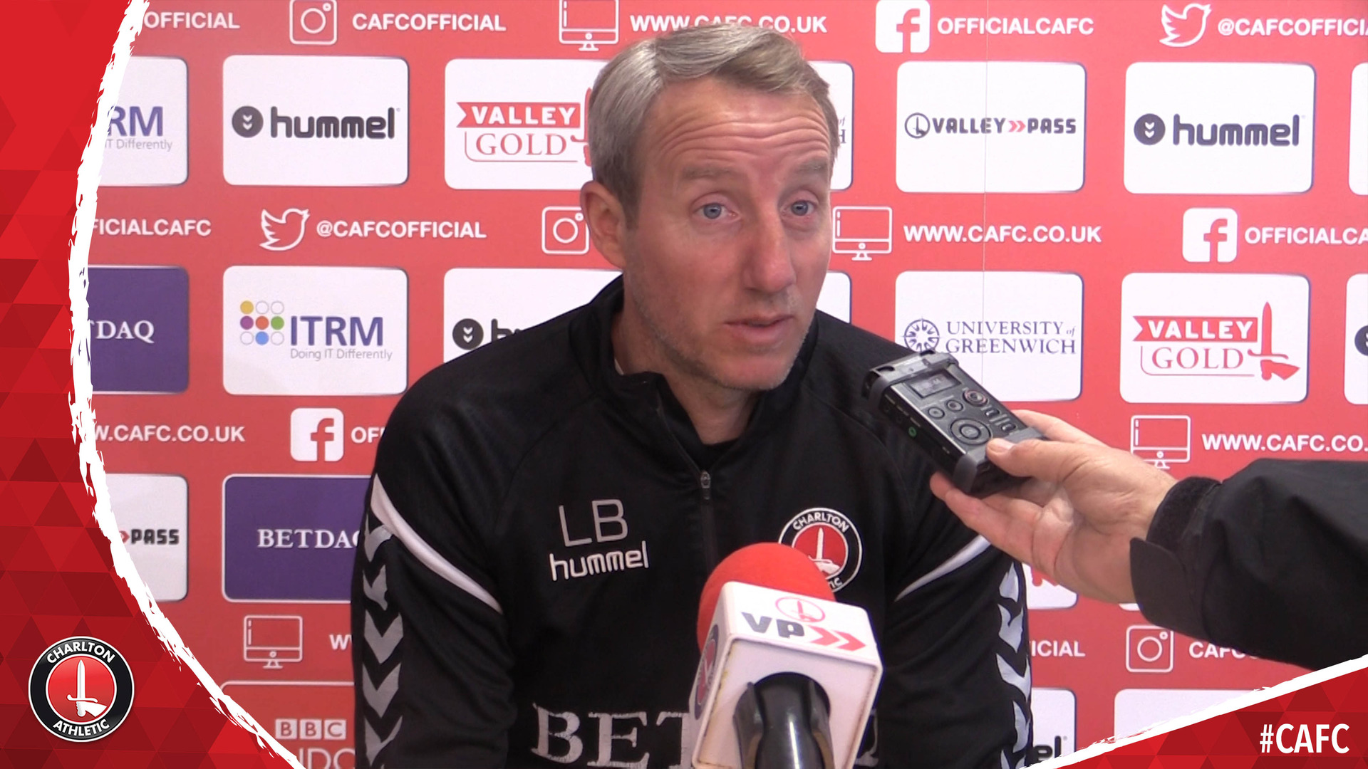 Lee Bowyer's pre-Luton Town press conference (April 2019)