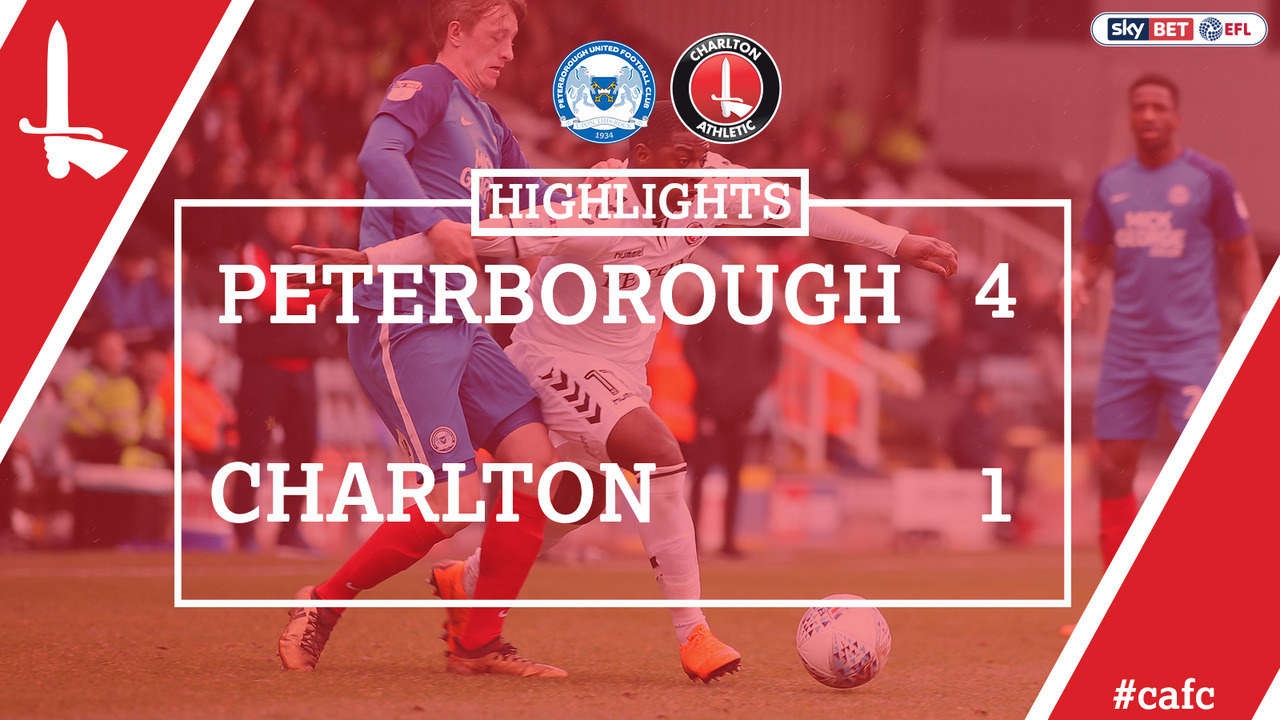 43 HIGHLIGHTS | Peterborough 4 Charlton 1 (Mar 2018)