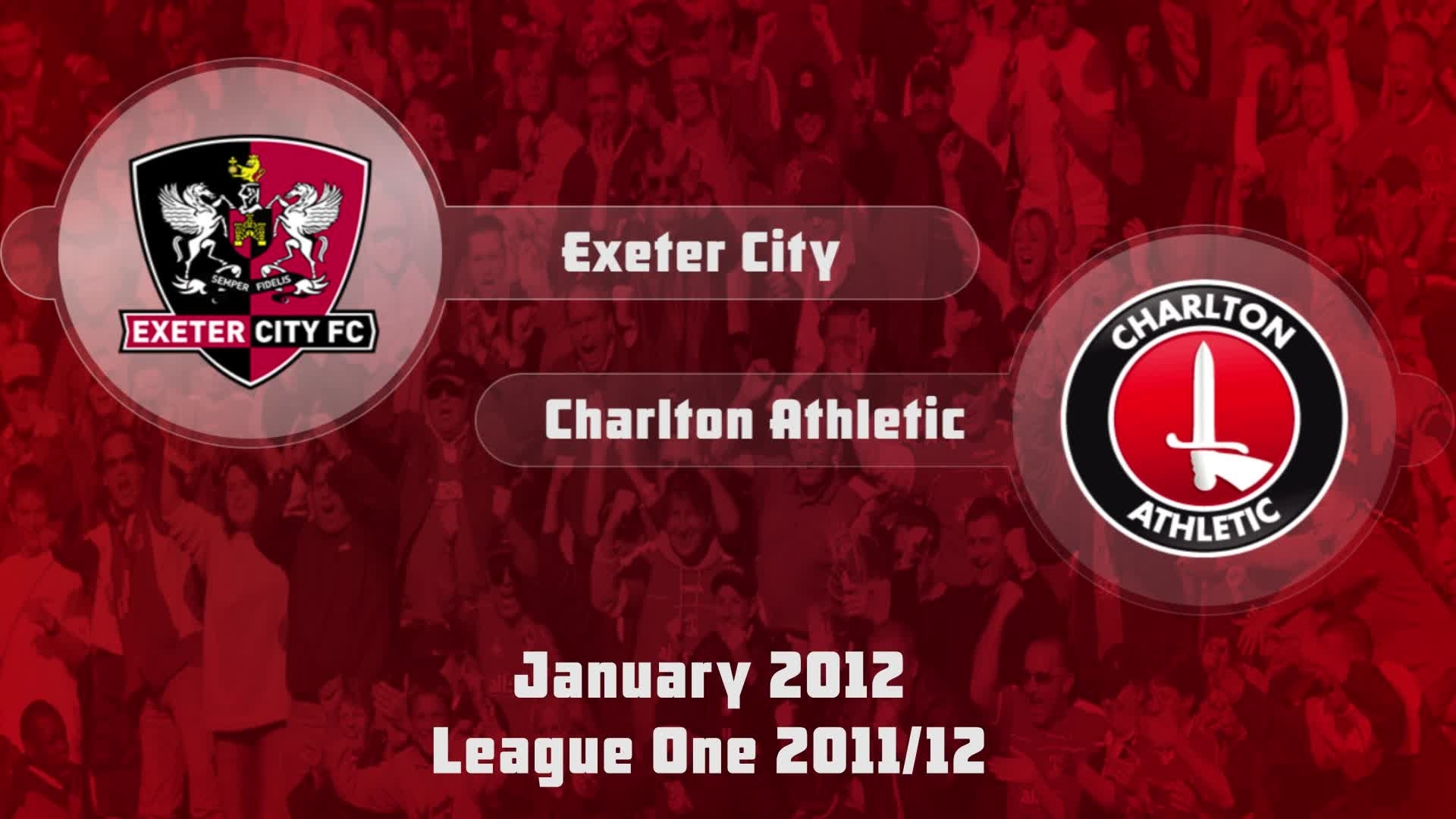 33 HIGHLIGHTS | Exeter 0 Charlton 1 (Jan 2012)