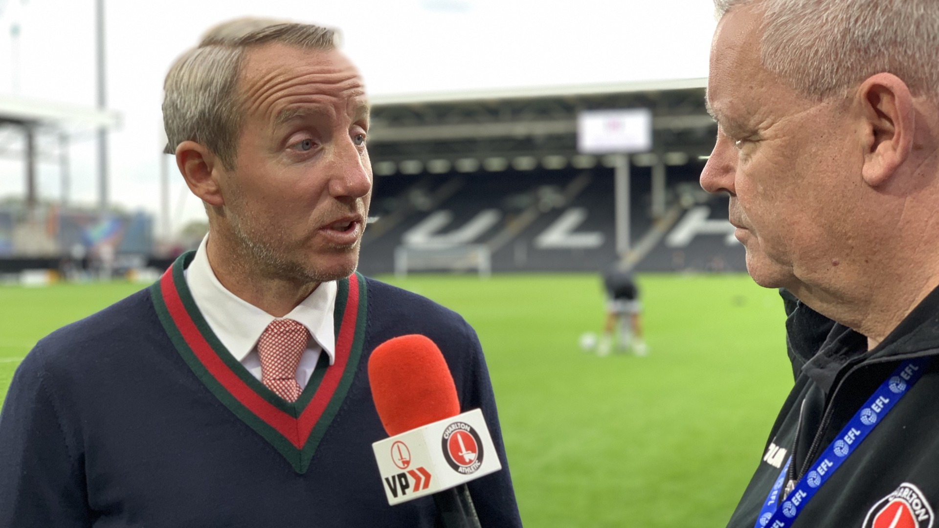 Bowyer on draw at Fulham (October 2019)
