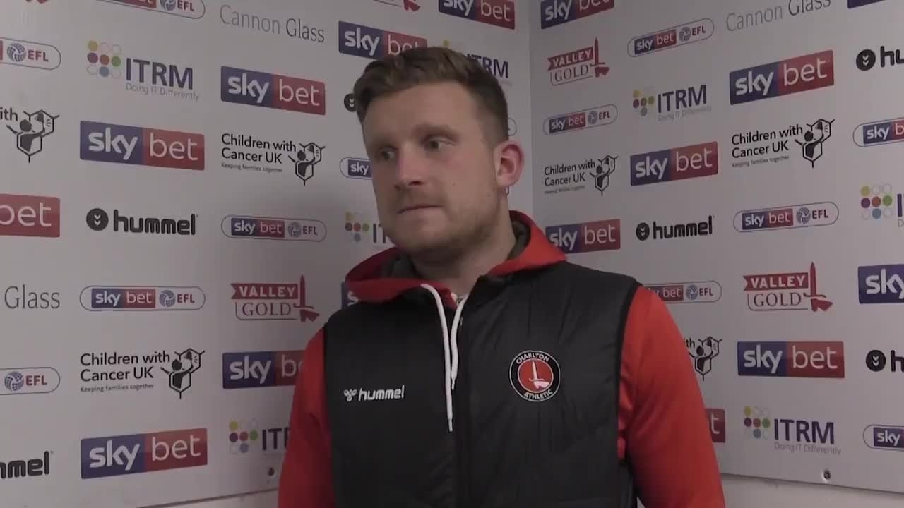 Dillon Phillips speaks after victory over Luton Town (February 2020)