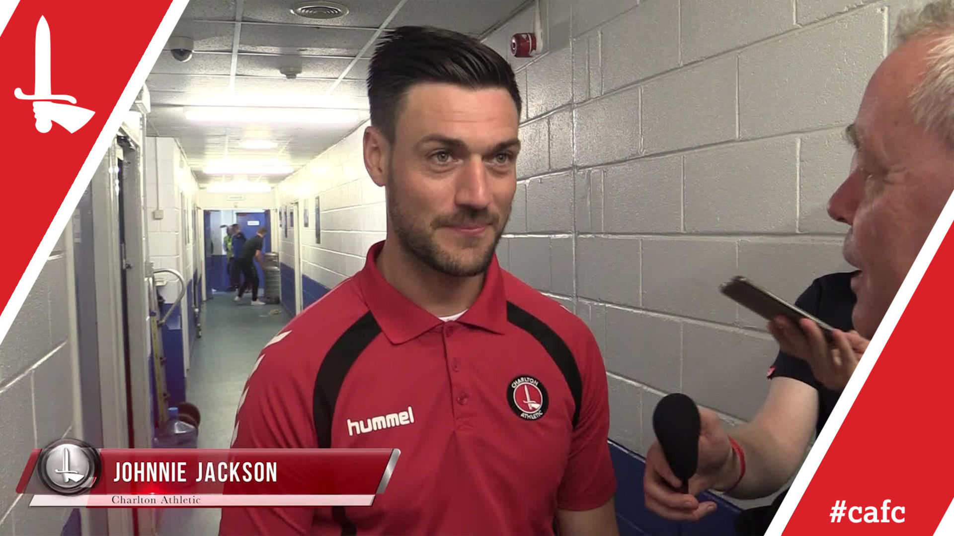 Johnnie Jackson focusing on the play-offs after Charlton's final-day game at Rochdale