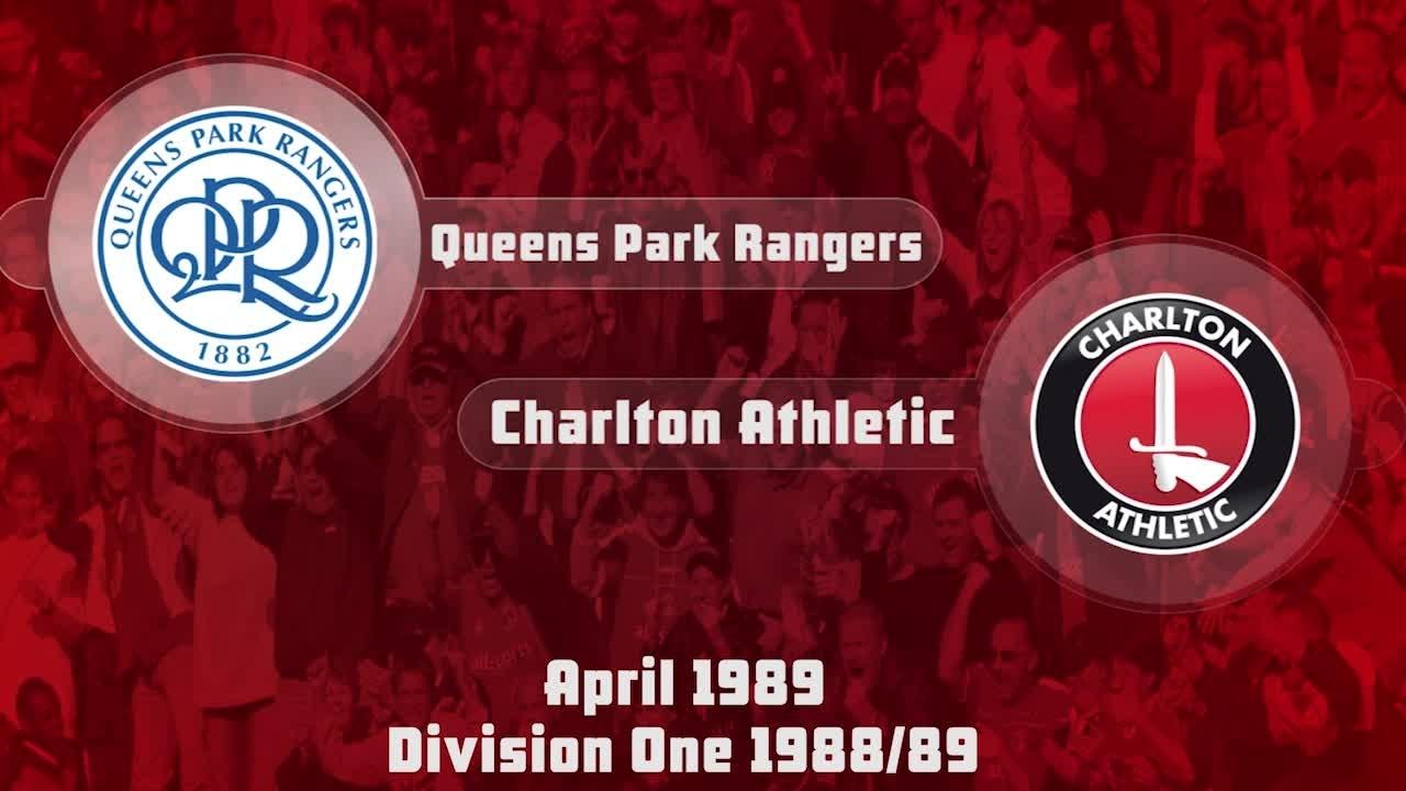 41 HIGHLIGHTS | QPR 1 Charlton 0 (April 1989)