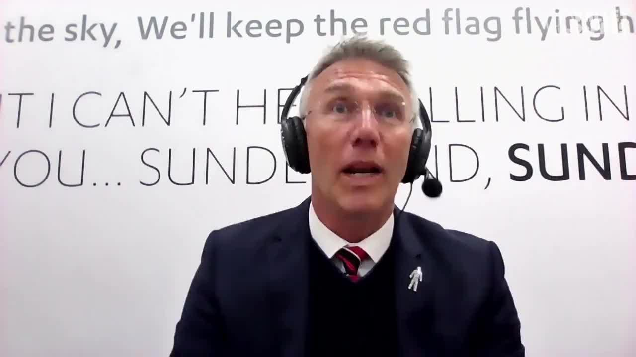 POST-MATCH | Nigel Adkins speaks following win at Sunderland (April 2021)
