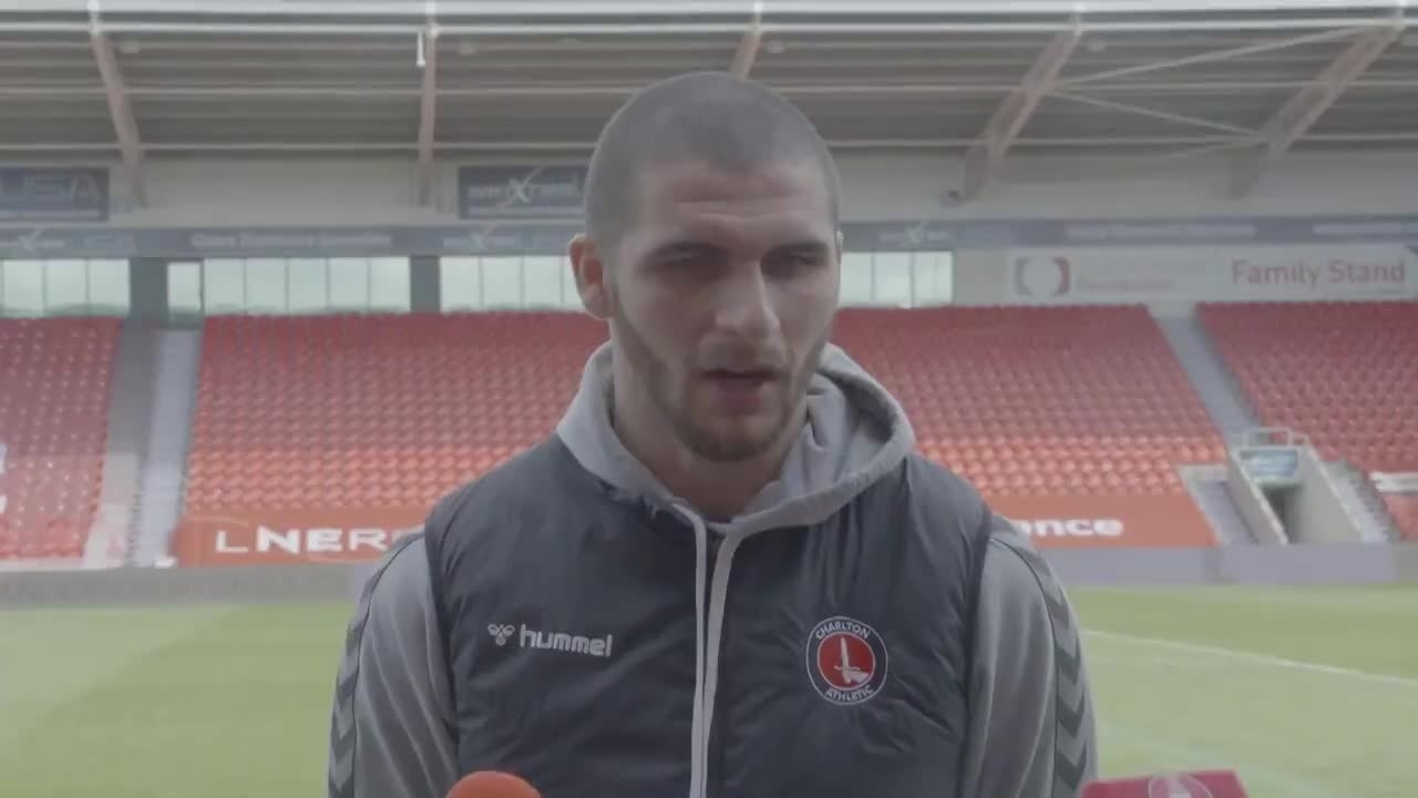 Ryan Inniss speaks after returning to the side against Doncaster Rovers (April 2021)