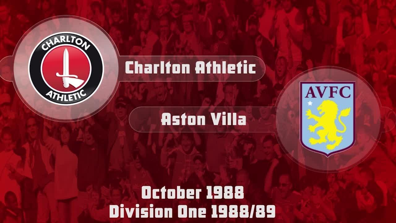 10 HIGHLIGHTS | Charlton 2 Aston Villa 2 (Oct 1988)