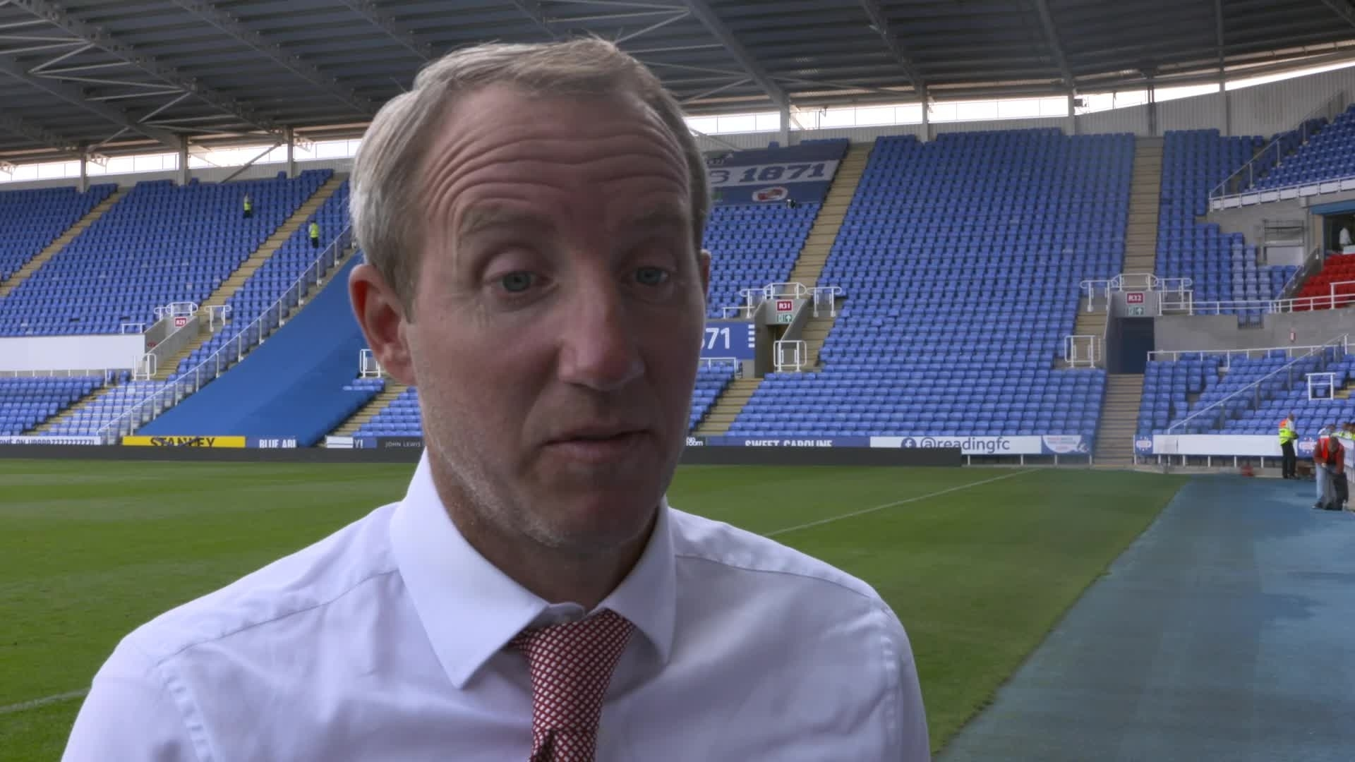 "POST-MATCH | Bowyer hails ""fearless"" Addicks after Reading victory (August 2019)"