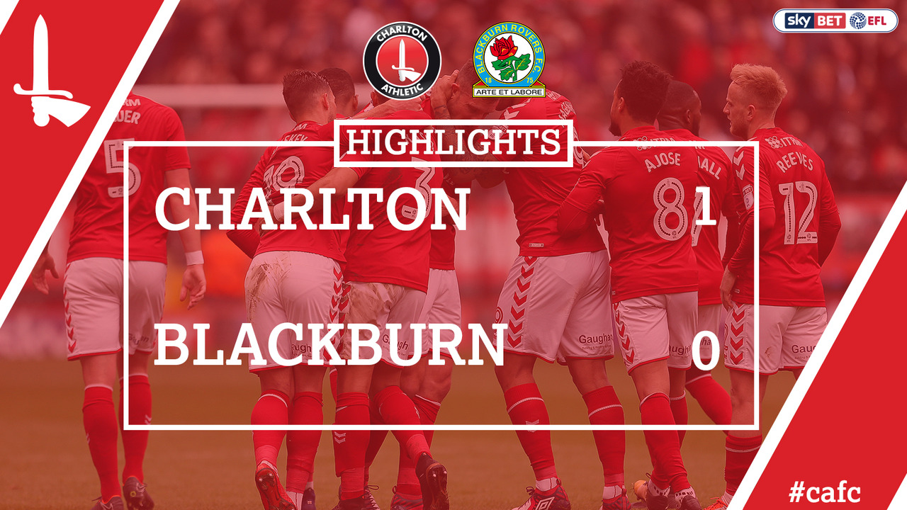 54 HIGHLIGHTS | Charlton 1 Blackburn 0 (April 2018)