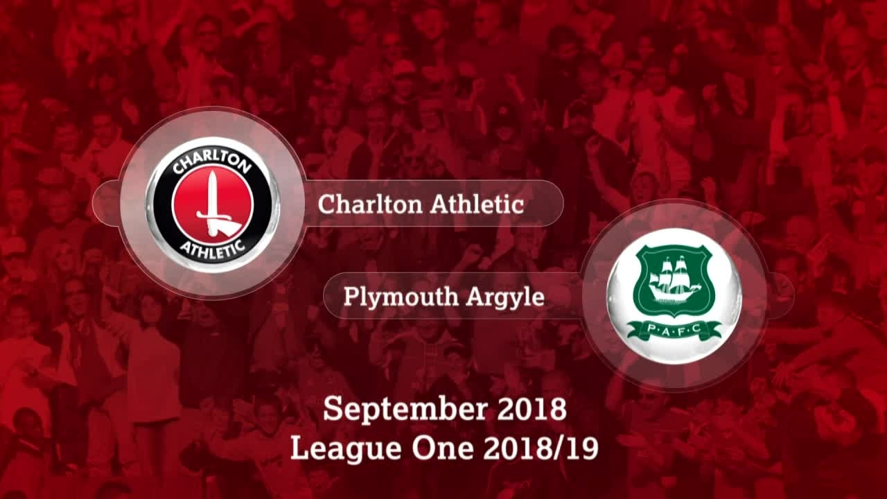 GOALS | Charlton 2 Plymouth Argyle 1 (September 2018)