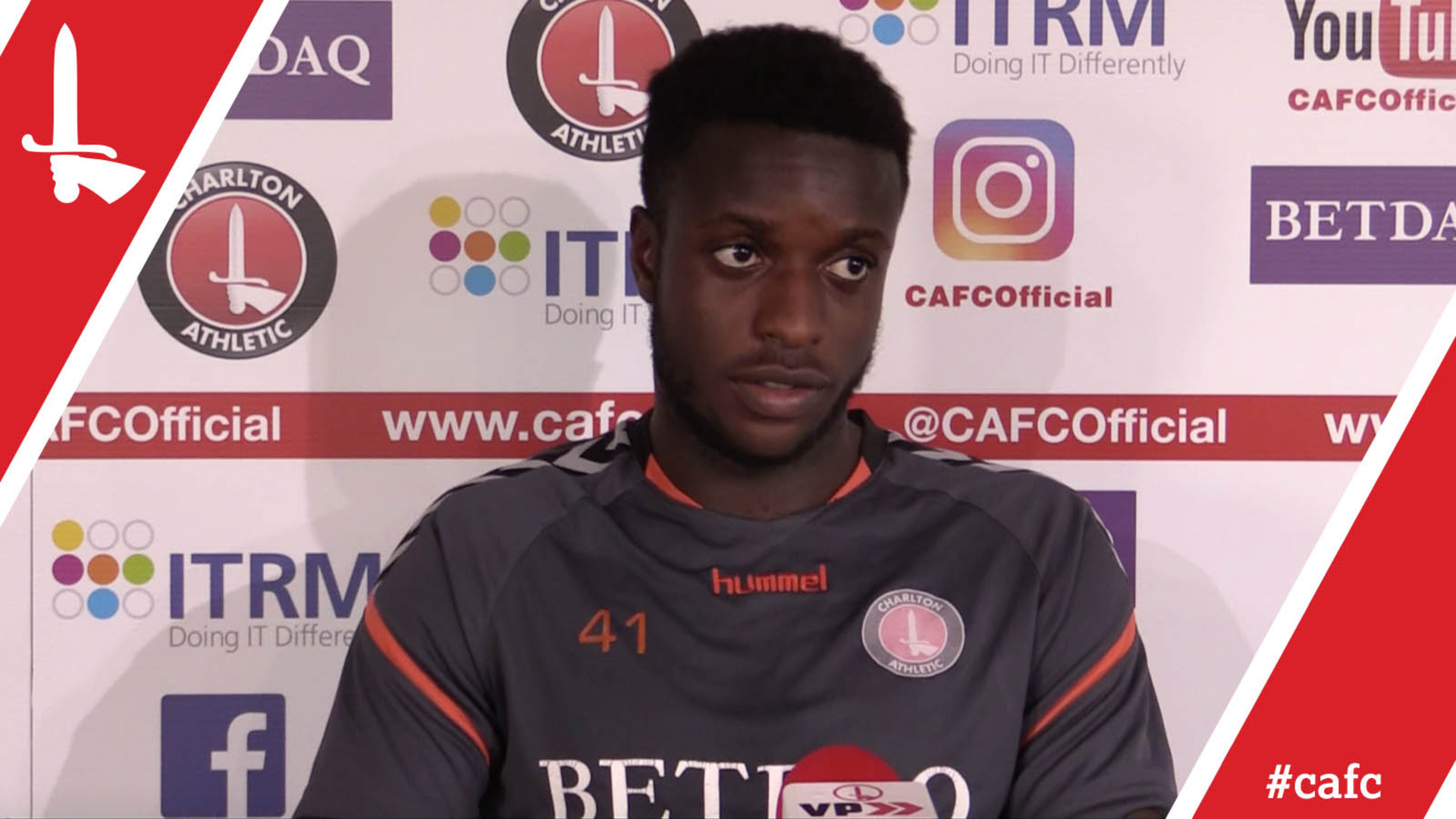 """""""A great opportunity"""" Aaron Barnes on Charlton U23s' tie against Liverpool"""