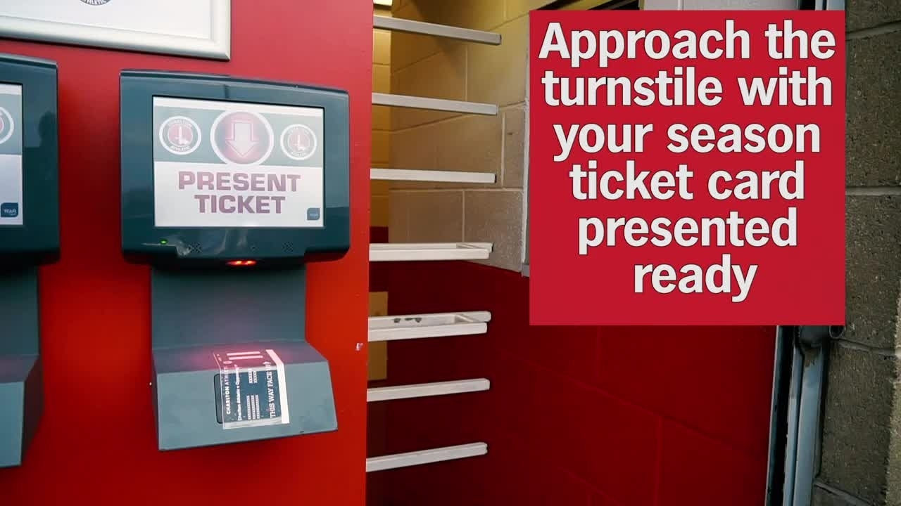 How to scan your season ticket