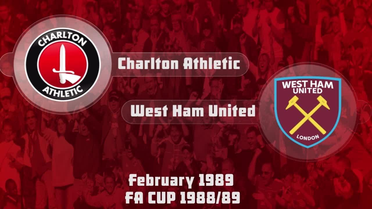 31 HIGHLIGHTS | Charlton 0 West Ham 1 (FA Cup Feb 1989)